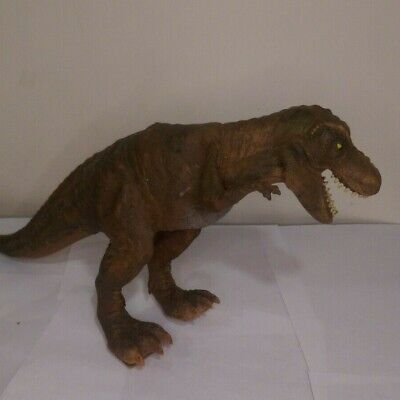 T- Rex Dinosaur Leather Skinned Action Figure Toy. Cool Toy! FREE SHIPPING!