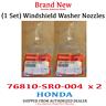 GENUINE HONDA ACCORD CIVIC WINDSHIELD WASHER NOZZLE SPRAYER  (76810-SR0-004 x 2)