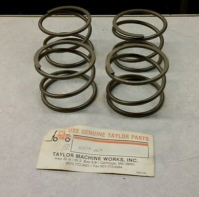 Taylor Forklift 4519-069 Spring New 4 Pcs