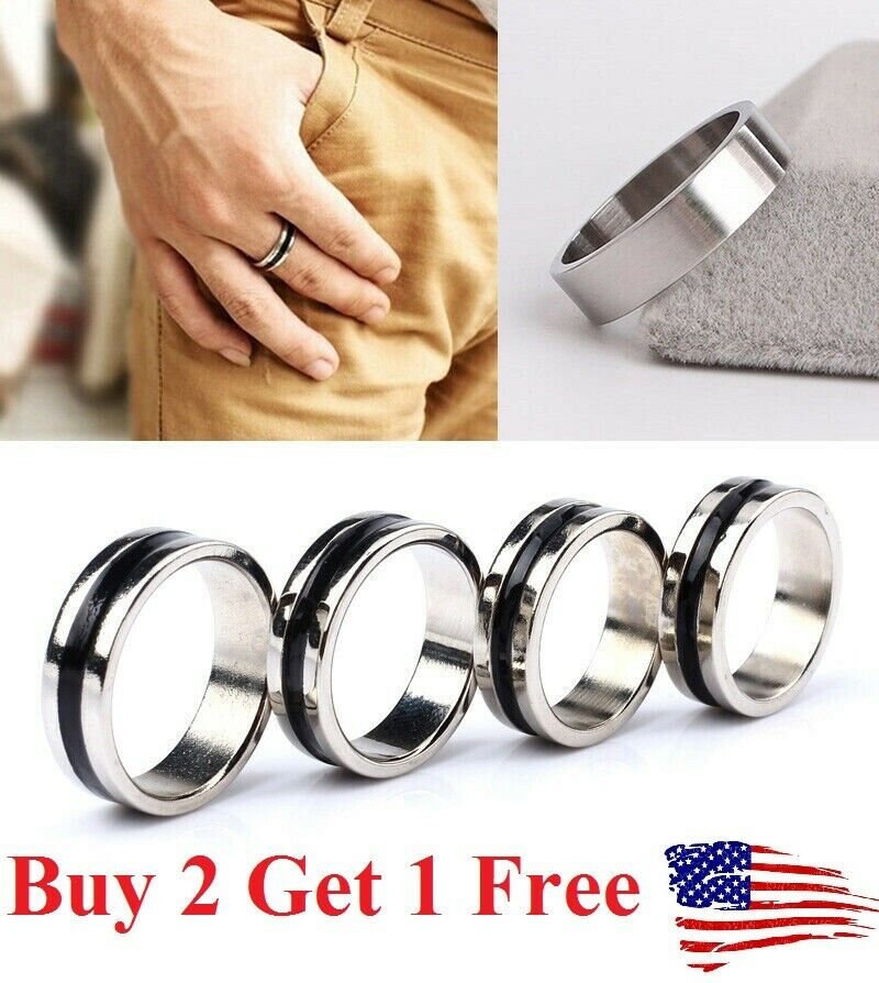 Strong Magnetic Magic Floating Ring Black Circle Finger Rings Magician Tool Fashion Jewelry