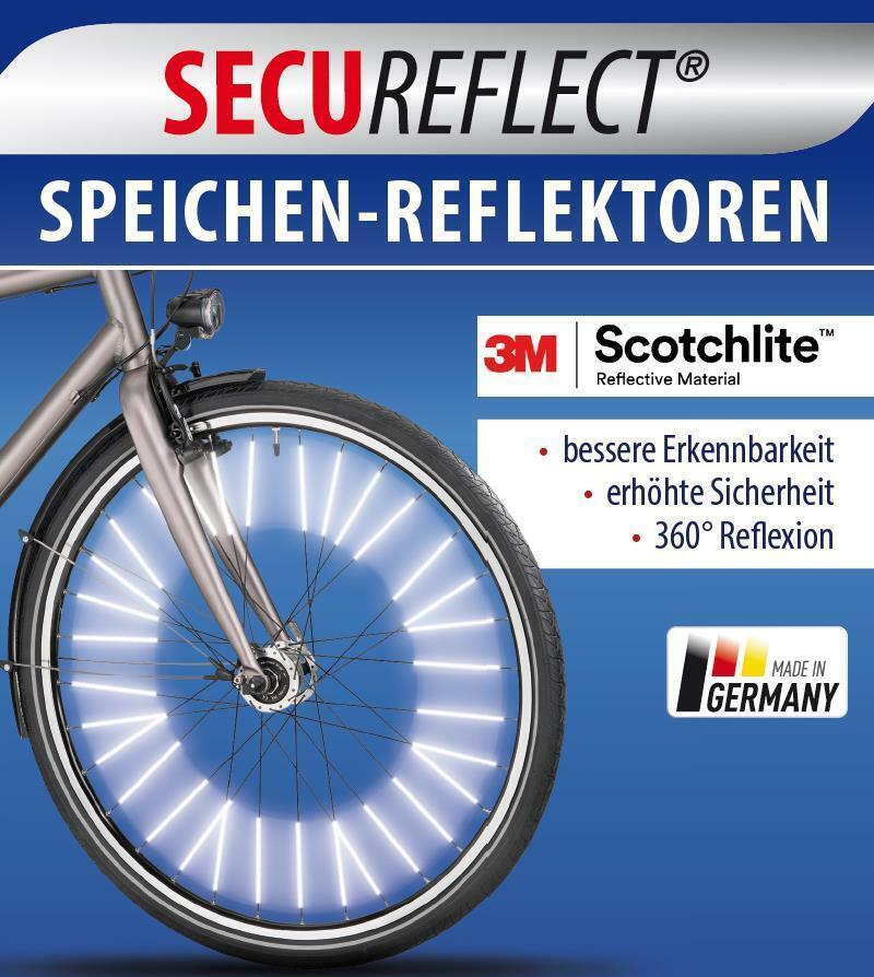 Stvo Set Fahrrad Reflektoren Set Klingel Speichenreflektor NEU Katzenauge StVZO