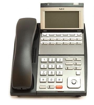 Fully Refurbished Nec 0910064 Ip3na-12tixh Ip-12e 12button Display Phone Black