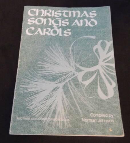 Christmas Songs and Carols - Vintage Sheet Music 1970