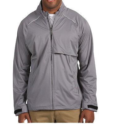 Adidas Golf ClimaProof Waterproof Seamseal Wind Storm Soft Shell Jacket Gray 2XL