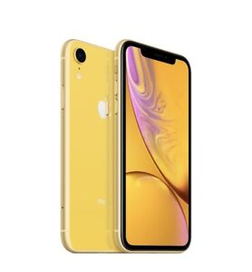 Mint condition iPhone XR - yellow