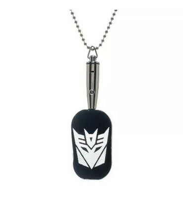 BRAND NEW TRANSFORMERS OPTIMUS PRIME LED DOG TAG NECKLACE CHAIN AUTHENTIC
