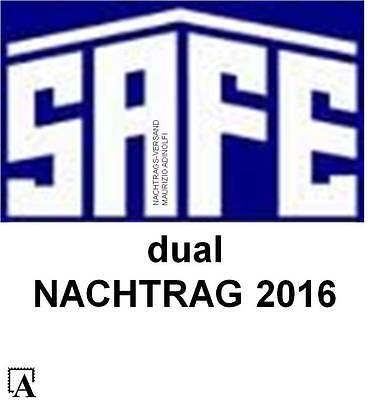 SAFE Dual Nachtrag 2015+2016 Deutschland Bundesrepublik Bund Vordruck 2214-6