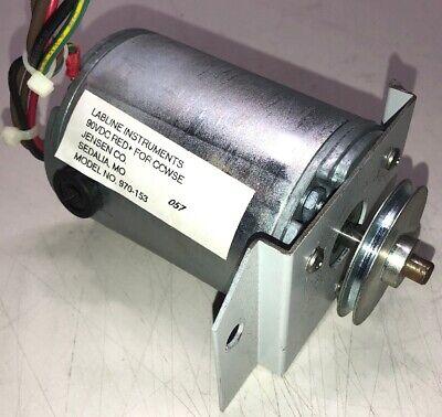Lab Line Orbital Platform Shaker 3520 90vdc Replacement Motor Model 970-153