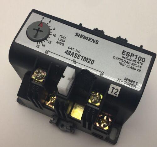 NEW NO BOX SIEMENS RELAY 48ASB3M20
