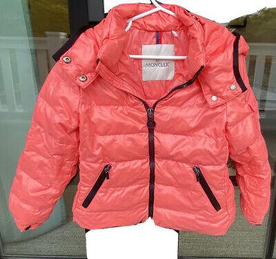 Authentic Moncler kids jacket 4T Bady