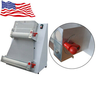 Portable 370w Automatic Pizza Dough Roller Sheeter Machine Pizza Making Maker
