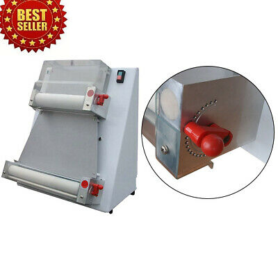 370w Automatic Pizza Dough Roller Sheeter Machinepizza Making Machine 110v