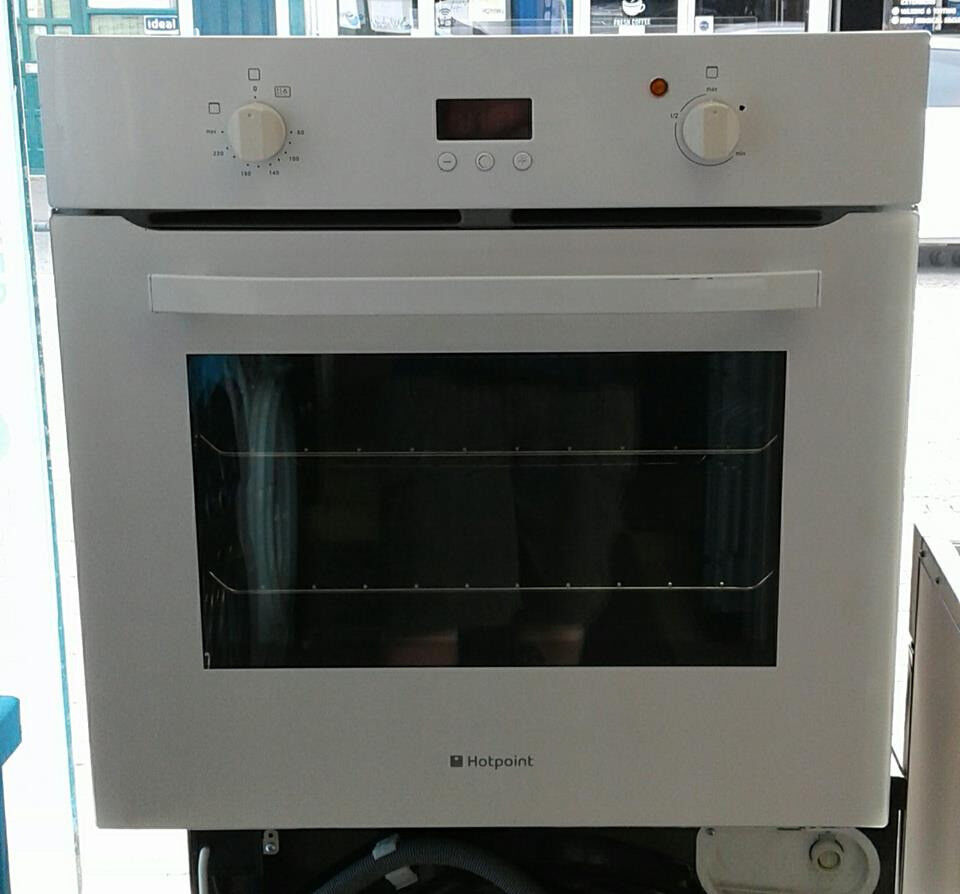 C783 White Hotpoint Single Electric Oven Come With Warranty Can Be Collection Ovens Lamona Fan Assisted Delivered Or Collected