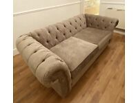 Next Chesterfield 3 Seater Sofa