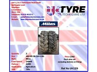 460 85 38 (18 4 38) Used Tractor Tyres