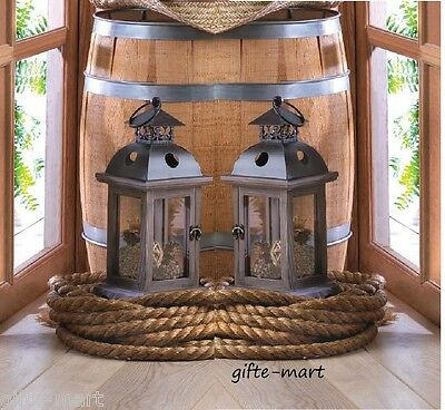 20 rustic weathered shabby wood metal florist wholesale Candle holder Lantern