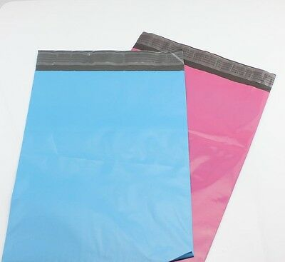BARGAIN 100 6.5 x 9 50each BLUE & PINK QUALITY Postal ENVELOPES Mailing BAGs