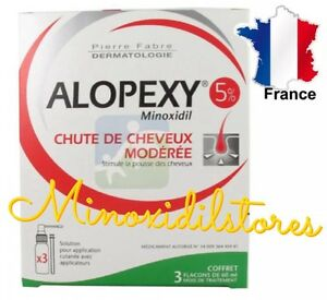 alopexy 5 minoxidil traitement anti chute perte repousse cheveux 3 mois ebay. Black Bedroom Furniture Sets. Home Design Ideas