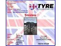 520 70 38 Used Tractor Tyres