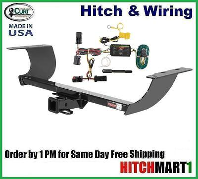 """FITS 2012-2014 CHRYSLER 300S CLASS 3 CURT TRAILER HITCH & WIRING 2"""" TOW RECEIVER"""