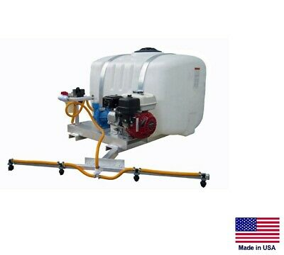 De-icer Sprayer Commercial - Skid Mounted - 100 Gallon Tank - 6 Ft Boom