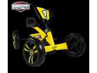 BERG BUZZY YELLOW PEDAL GO KART 2-5YRS BRAND NEW FULLY ASSEMBLED