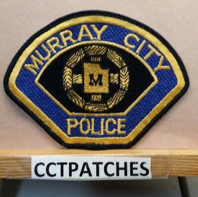 MURRY CITY, UTAH POLICE SHOULDER PATCH UT