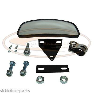 New Rear View Mirror Skid Steer Loader Skidsteer Kubota New Holland Mustang