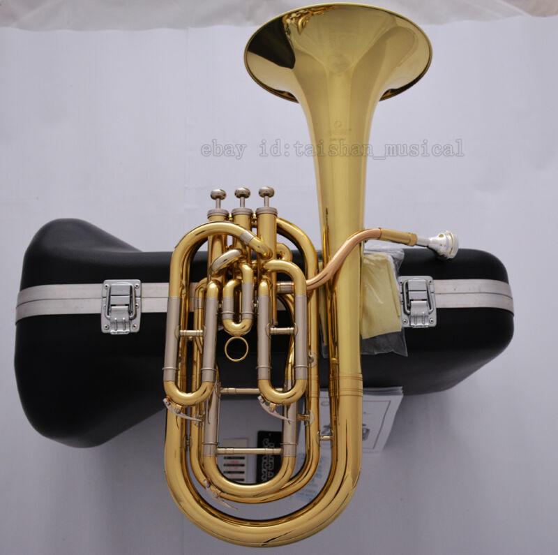 Professional JINBAO Golden Compensating Baritone Horn Cupronickel Tuning pipe