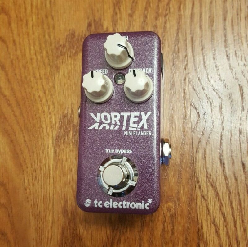 TC Electronic Vortex Mini Flanger Guitar Effect Pedal - Used - Mint!