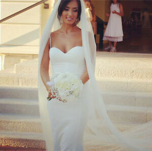 Melb made wedding dresses, custom veils & bridal hairpiece Melbourne CBD Melbourne City Preview