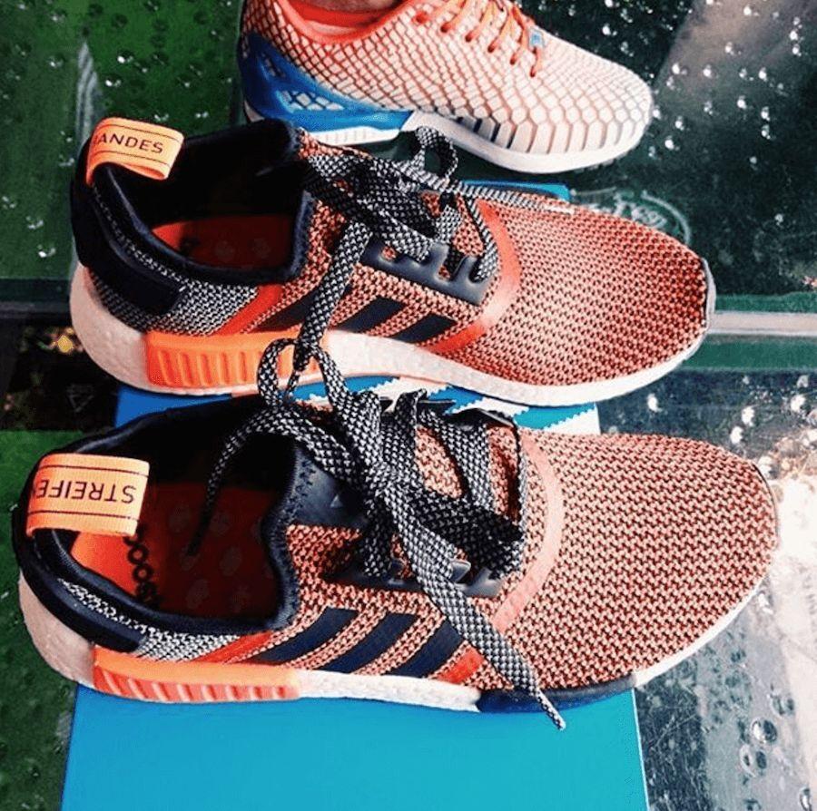 Adidas Nmd Beige Et Orange