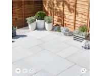 Silver Sawn Paving Slabs