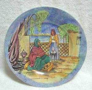 Deco Grimwades Royal Winton Glimpses of the East LUSTRE plate Kingswood Penrith Area Preview