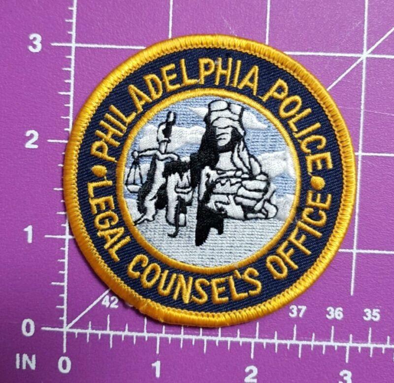 Philadelphia Pennsylvania police Legal Counsel