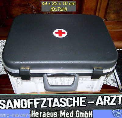 DOCTOR CASE BUNDESWEHR ARZTKOFFER ARZT SAN OFFIZIER AMPULLEN TASCHE AMPULLARIUM