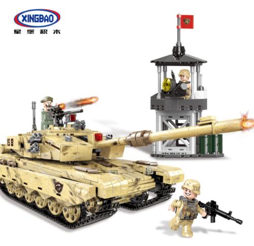 XINGBAO Microblock Panzermodell Panzerkampfwagen Mini Spielzeug Geschenk OVP