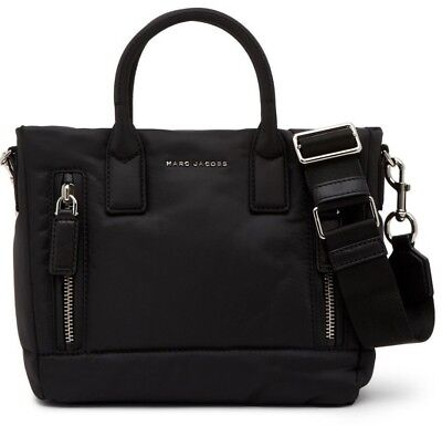 ($295 NWT Marc Jacobs Small Mallorca East/West Tote Bag Handbag Black)