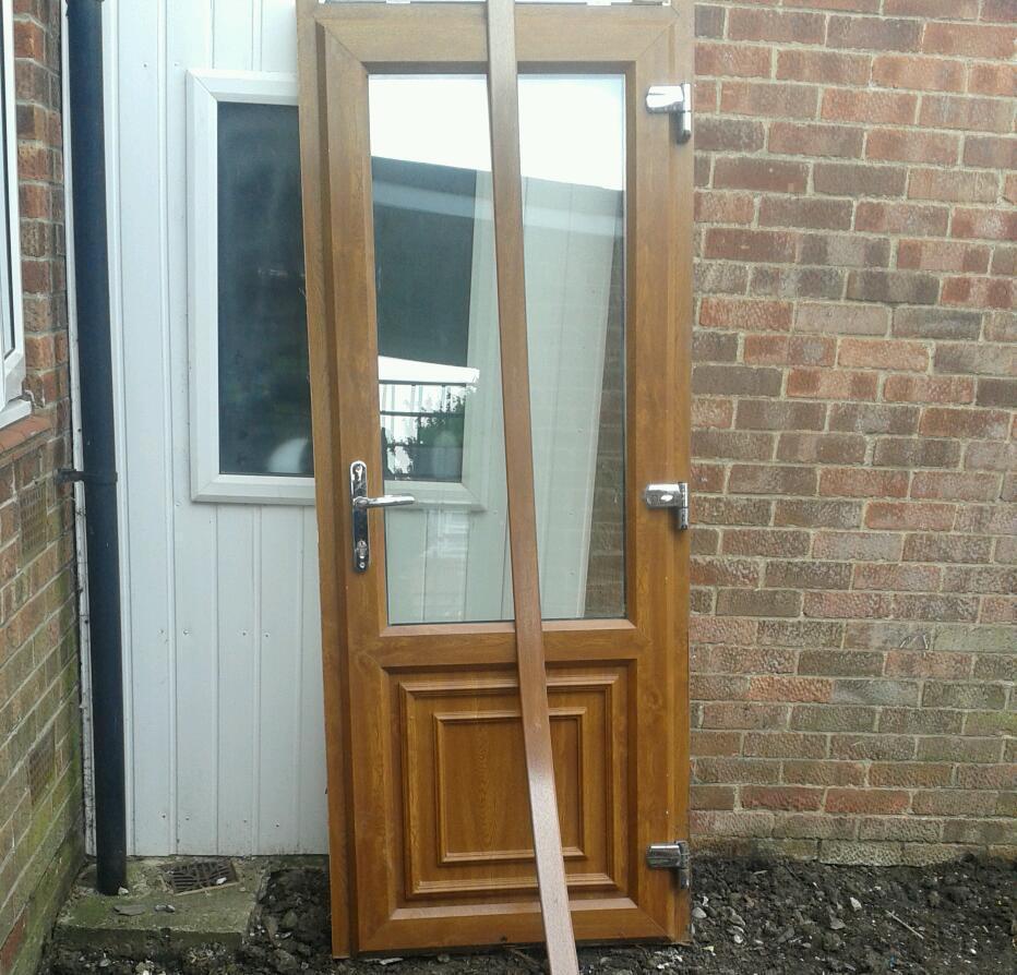 Upvc door in hull east yorkshire gumtree for Reclaimed upvc doors