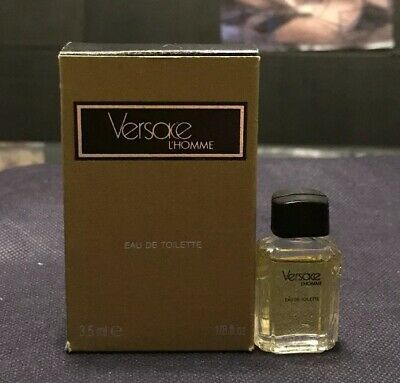 Versace L'homme 3.5 ML EDT Miniature. New & Vintage