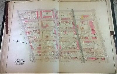 1905 E. Belcher Hyde Cypress Hills Brooklyn East New York NYC Map Atlas 27 x 36