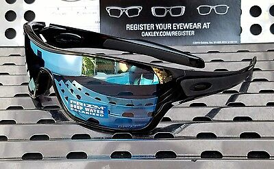 49544180d6a New Oakley 9307-08 TURBINE ROTOR Sunglasses Black w  Prizm Deep H2O  Polarized
