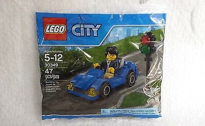 New Lego City Set 30349 Sports Car Sealed Polybag