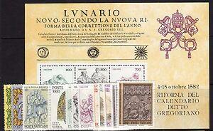 VATICANO-ANNATA-1982-Completa-MNH