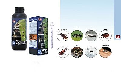 Kollant Total Ce 1 Lt Insecticide Cockroaches Awl Red Mosquito Tiger Etc