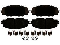 Disc Brake Pad Set-Ceramic Disc Brake Pad Front ACDelco Advantage 14D1285CHF1