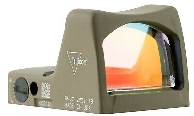Trijicon 700645 RMR 1x 6.5 MOA Red Dot Flat Dark Earth Cerakote