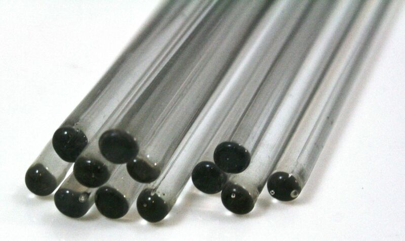 Diameter: ø 6 mm Glass stirring rod  SET - length (mm): 100, 150, 200, 250, 300