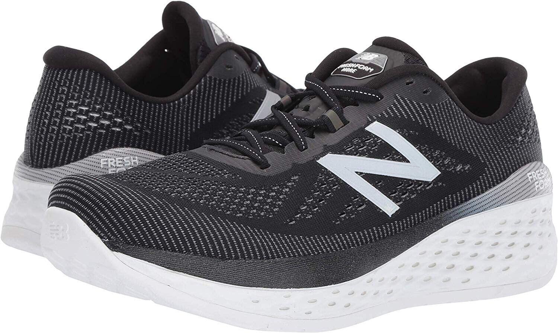 New Balance Men's Fresh Foam More Running Shoe in Black/Orca