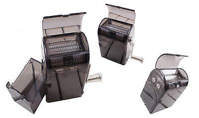 Grinder Triturador de Tabaco Polinizador Metálico/ Plástico Molinillo【Solo azul】